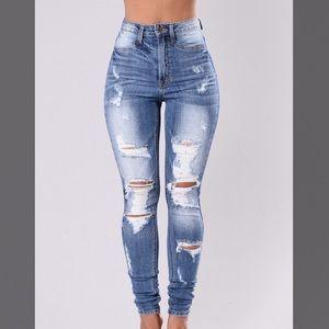 Bet you won't forget It Fashion Nova Jeans